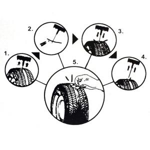 kit d 39 urgence r paration pneu crevaison pneu auto moto 36 pcs. Black Bedroom Furniture Sets. Home Design Ideas